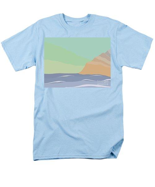 Coastal Bank Men's T-Shirt  (Regular Fit) by Henry Manning