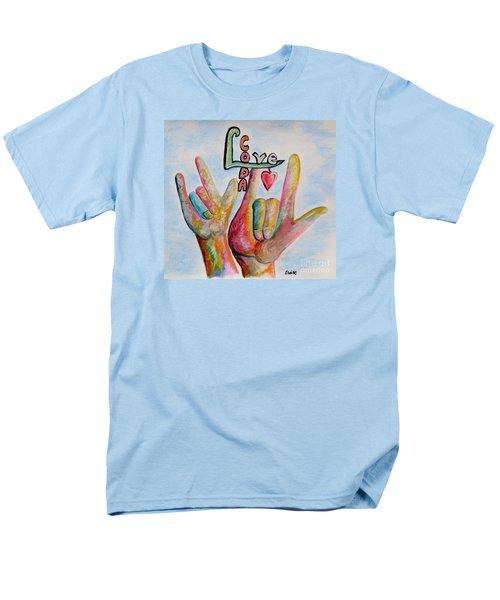 Coda - Children Of Deaf Adults Men's T-Shirt  (Regular Fit) by Eloise Schneider