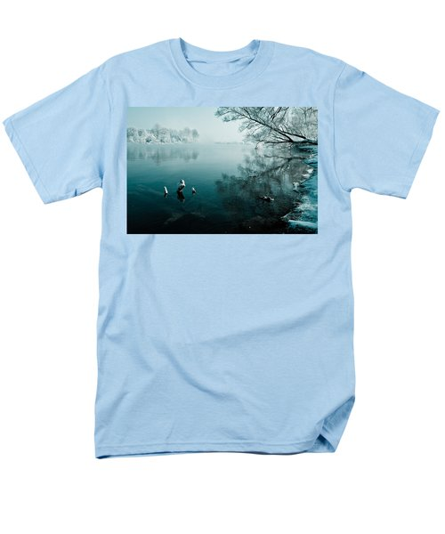 Color Of Ice Men's T-Shirt  (Regular Fit) by Davorin Mance