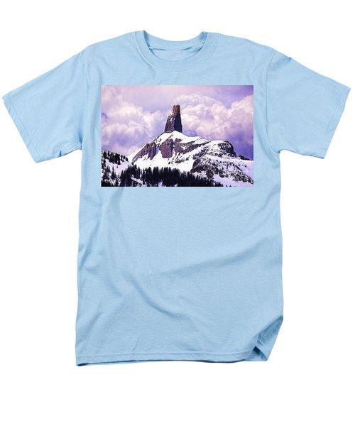 Colorados Lizard Head Men's T-Shirt  (Regular Fit) by Janice Rae Pariza