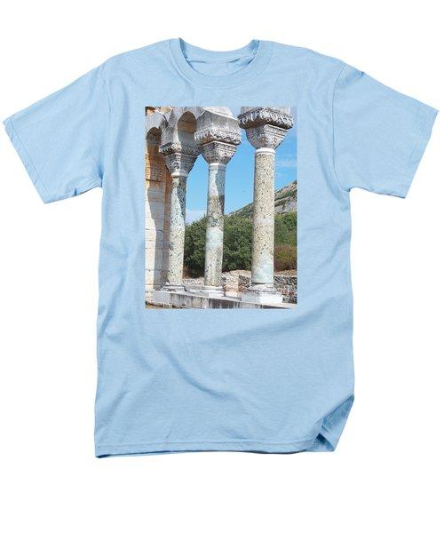 Men's T-Shirt  (Regular Fit) featuring the photograph Columns by Marilyn Zalatan