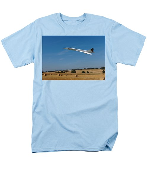 Concorde At Harvest Time Men's T-Shirt  (Regular Fit) by Paul Gulliver