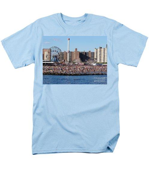 Men's T-Shirt  (Regular Fit) featuring the photograph Coney Island by Ed Weidman