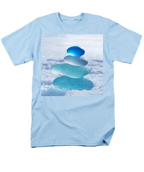 Cool Blues Men's T-Shirt  (Regular Fit) by Barbara McMahon