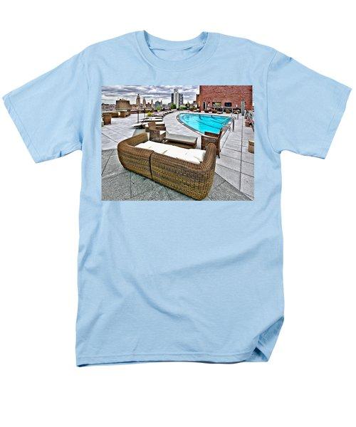 Cooper Roof Men's T-Shirt  (Regular Fit) by Steve Sahm