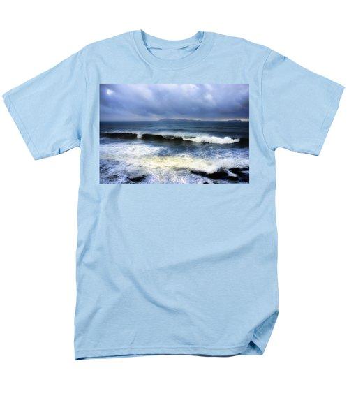 Coronado Islands In Storm Men's T-Shirt  (Regular Fit) by Hugh Smith