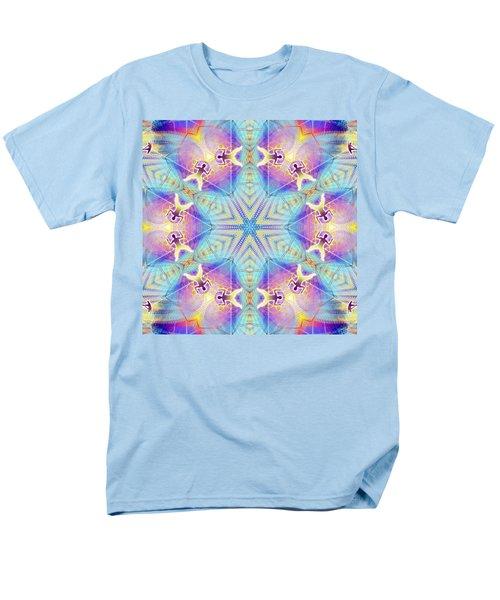Cosmic Spiral Kaleidoscope 17 Men's T-Shirt  (Regular Fit)
