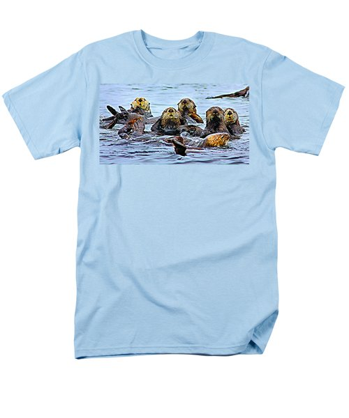 Men's T-Shirt  (Regular Fit) featuring the photograph Couch Critters by Kristin Elmquist