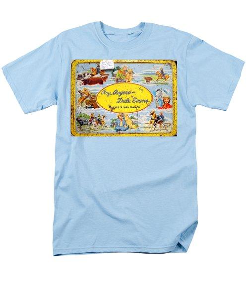 Cowboy Lunchbox Men's T-Shirt  (Regular Fit) by Ed Weidman