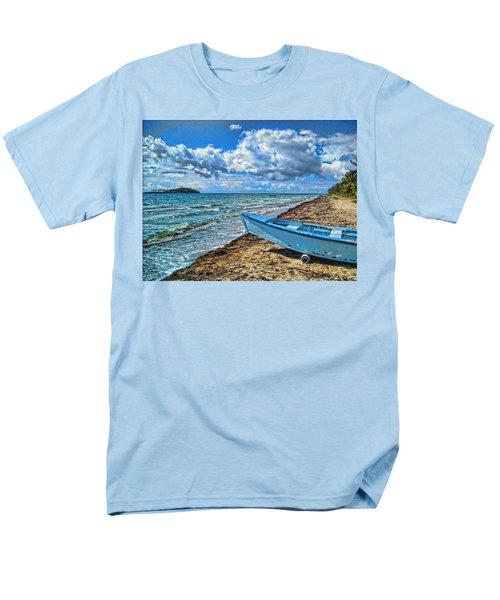 Crash Boat Men's T-Shirt  (Regular Fit) by Daniel Sheldon