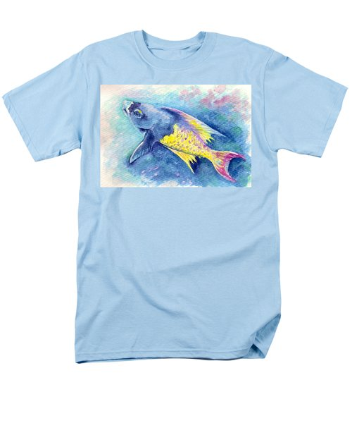 Creole Wrasse Men's T-Shirt  (Regular Fit) by Ashley Kujan