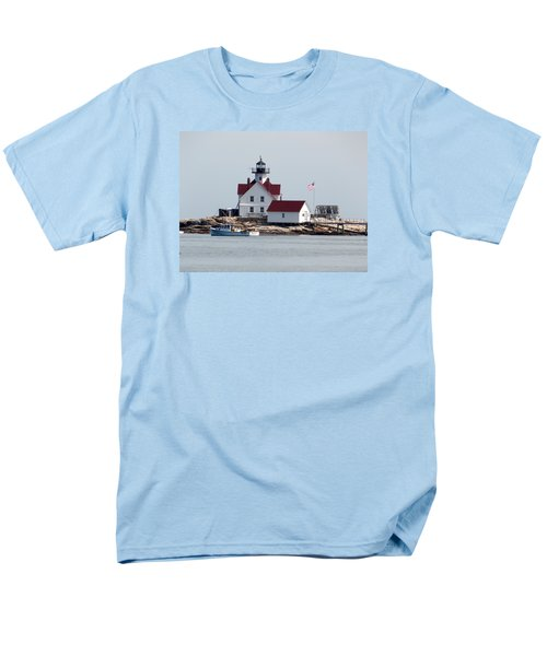 Cuckholds Lighthouse Men's T-Shirt  (Regular Fit) by Catherine Gagne