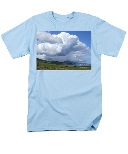 Men's T-Shirt  (Regular Fit) featuring the photograph Cumulus Clouds - Isle Of Skye by Phil Banks