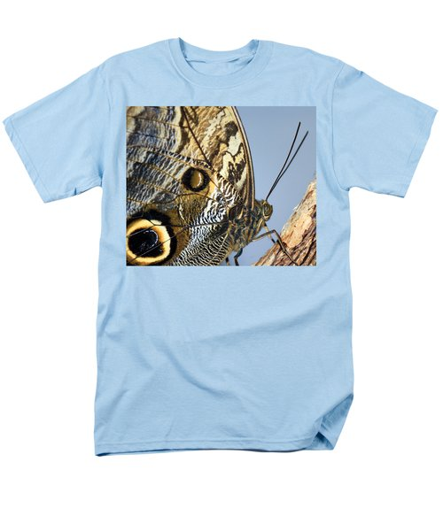 Curve Of A Butterfly Men's T-Shirt  (Regular Fit) by Sonya Lang
