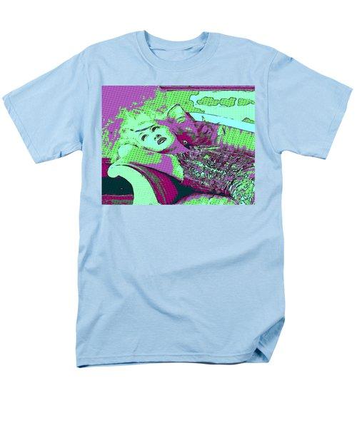 Cyndi Lauper Men's T-Shirt  (Regular Fit) by Catherine Lott