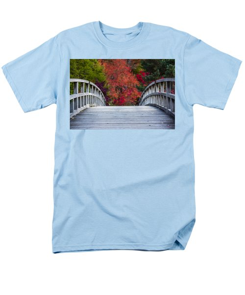 Men's T-Shirt  (Regular Fit) featuring the photograph Cypress Bridge by Sebastian Musial
