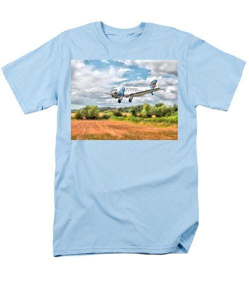 Dakota - Cleared To Land Men's T-Shirt  (Regular Fit) by Paul Gulliver