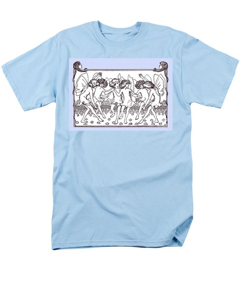 Dancing Fairies From 1896 Men's T-Shirt  (Regular Fit) by Phil Cardamone