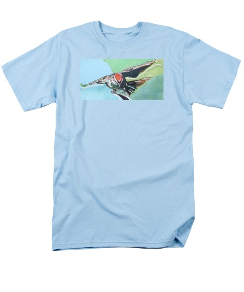 Dancing Sparrow Men's T-Shirt  (Regular Fit) by Jamie Downs