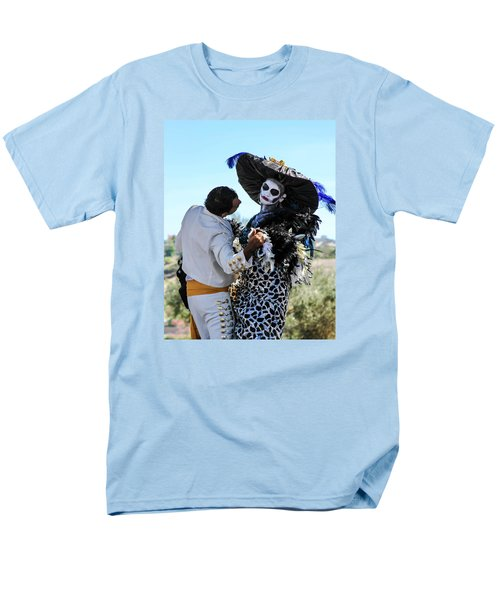 Dancing With The Death Men's T-Shirt  (Regular Fit) by Menachem Ganon