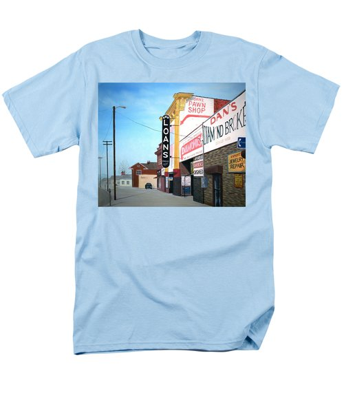 Men's T-Shirt  (Regular Fit) featuring the painting Dan's by Stacy C Bottoms