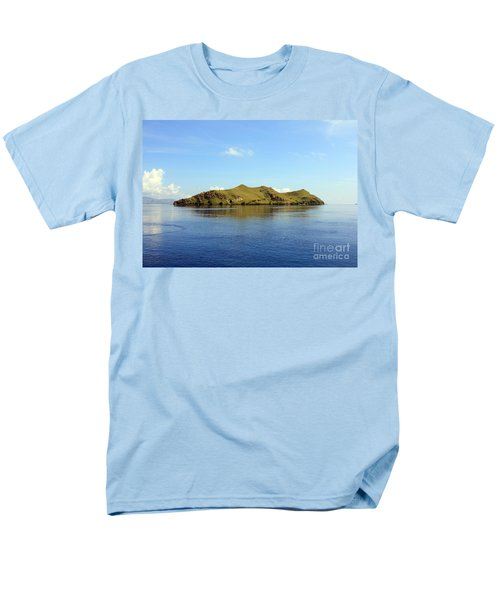 Desert Island Men's T-Shirt  (Regular Fit) by Sergey Lukashin