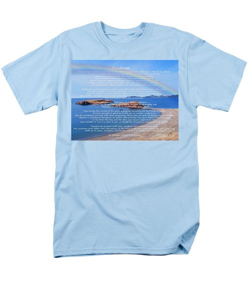 Desiderata  Men's T-Shirt  (Regular Fit) by Barbara Griffin