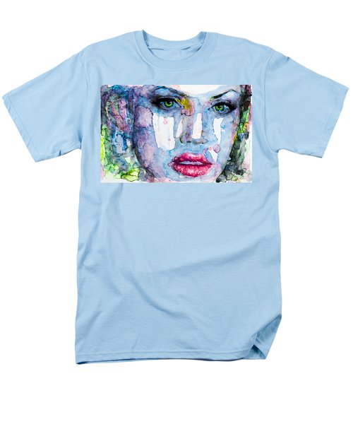 Men's T-Shirt  (Regular Fit) featuring the painting Different Is Inspiring by Laur Iduc