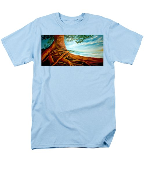 Men's T-Shirt  (Regular Fit) featuring the painting Distant Shores Rejoice by Meaghan Troup
