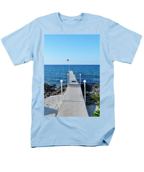 Men's T-Shirt  (Regular Fit) featuring the photograph Divers Down by Amar Sheow