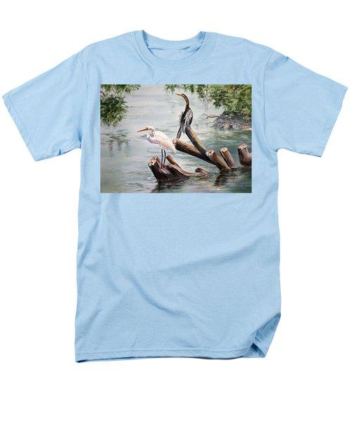 Double Trouble Men's T-Shirt  (Regular Fit) by Roxanne Tobaison
