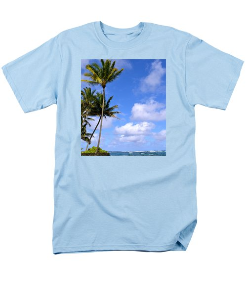 Down By The Ocean In Hawaii Men's T-Shirt  (Regular Fit) by Lehua Pekelo-Stearns