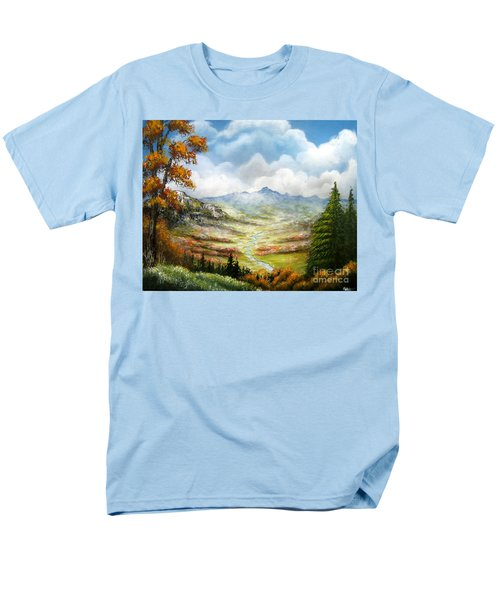 Men's T-Shirt  (Regular Fit) featuring the painting Dreamin On by Patrice Torrillo
