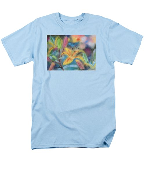 Early Arrival Lily Men's T-Shirt  (Regular Fit) by Julie Brugh Riffey