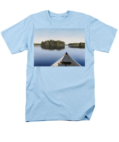 Early Evening Paddle  Men's T-Shirt  (Regular Fit) by Kenneth M  Kirsch