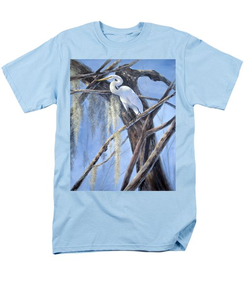 Egret Perch Men's T-Shirt  (Regular Fit)