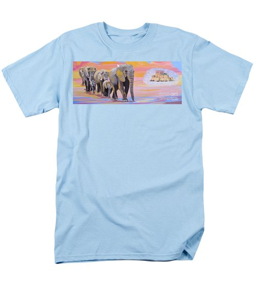 Elephant Fantasy Must Open Men's T-Shirt  (Regular Fit) by Phyllis Kaltenbach