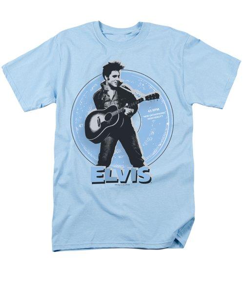 Elvis - 45 Rpm Men's T-Shirt  (Regular Fit)