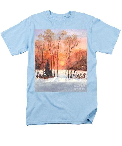 The Evening Glow Men's T-Shirt  (Regular Fit) by Carol Wisniewski
