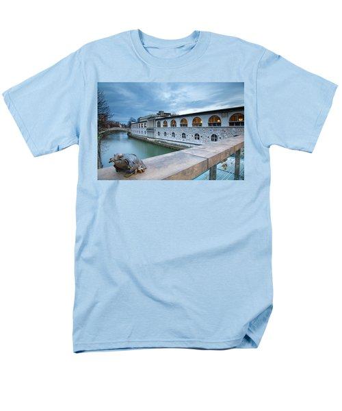 Evening In Ljubljana Men's T-Shirt  (Regular Fit) by Ian Middleton