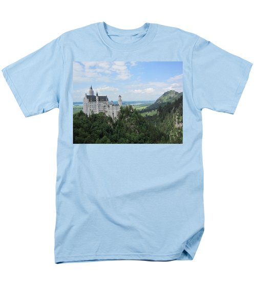 Men's T-Shirt  (Regular Fit) featuring the photograph Fairytale Castle - 1 by Pema Hou