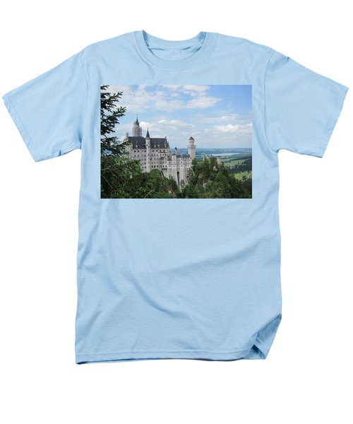 Men's T-Shirt  (Regular Fit) featuring the photograph Fairytale Castle by Pema Hou