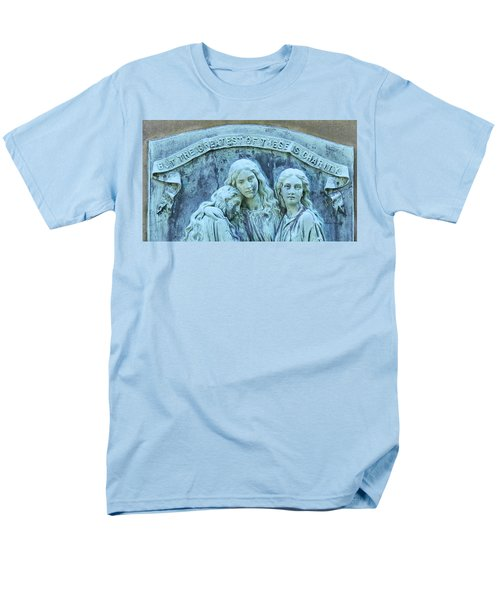 Faith Hope Charity Men's T-Shirt  (Regular Fit) by Kathy Barney