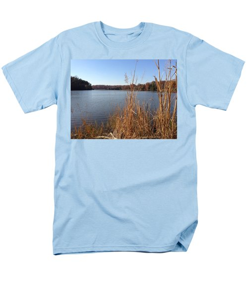 Fall On The Creek Men's T-Shirt  (Regular Fit) by Charles Kraus