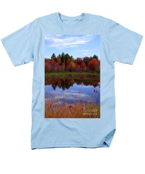 Fall Reflections Men's T-Shirt  (Regular Fit) by Kerri Mortenson