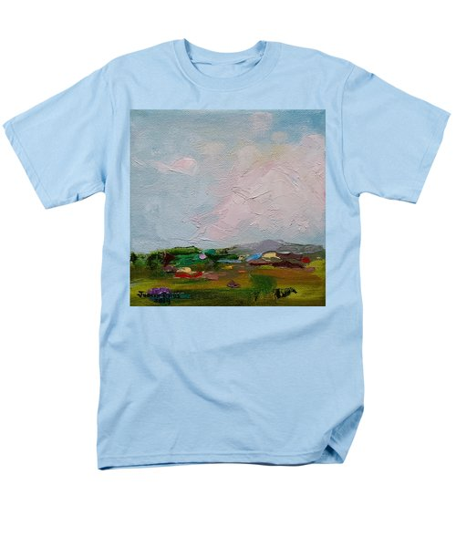 Farmland IIi Men's T-Shirt  (Regular Fit) by Judith Rhue