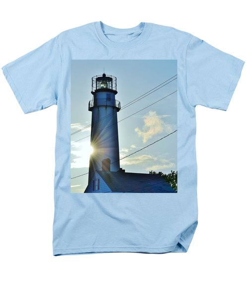 Fenwick Island Lighthouse - Delaware Men's T-Shirt  (Regular Fit)