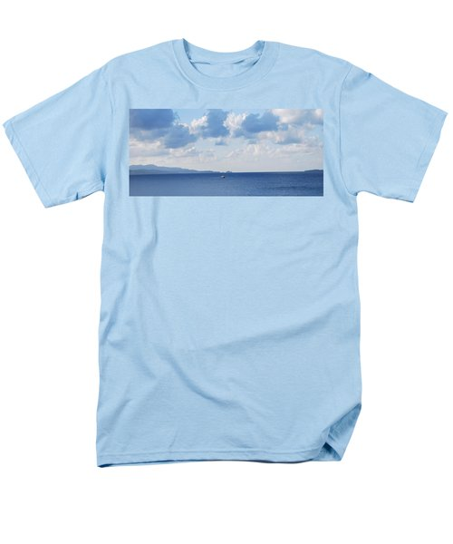Ferry On Time Men's T-Shirt  (Regular Fit) by George Katechis