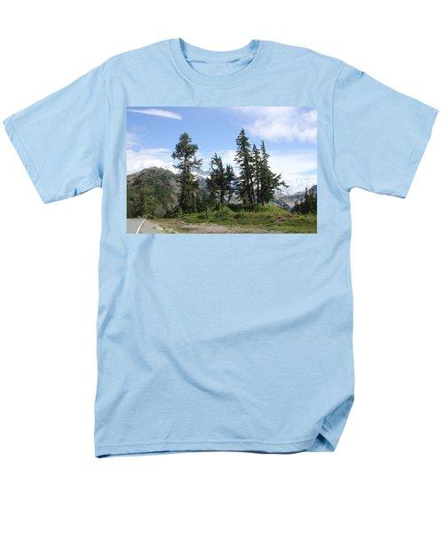 Fir Trees At Mount Baker Men's T-Shirt  (Regular Fit) by Tom Janca