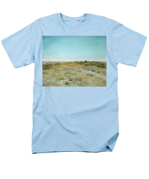 First Touch Of Autumn Men's T-Shirt  (Regular Fit) by William Merritt Chase